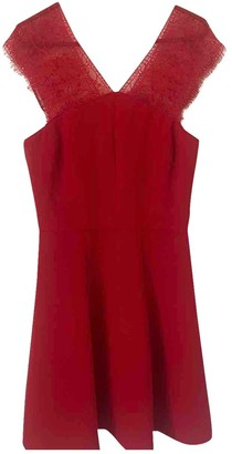 The Kooples Spring Summer 2019 Red Lace Dress for Women
