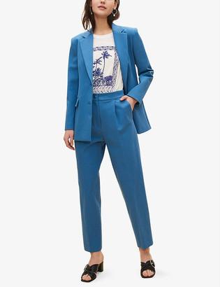 Claudie Pierlot Violon single-breasted stretch-cotton jacket