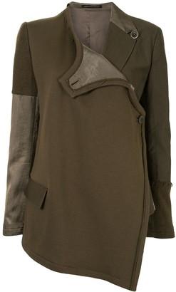 Y's Asymmetric Panel Jacket
