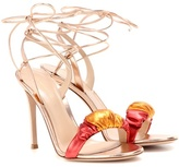 Gianvito Rossi Exclusive to mytheresa.com – Belle metallic leather sandals