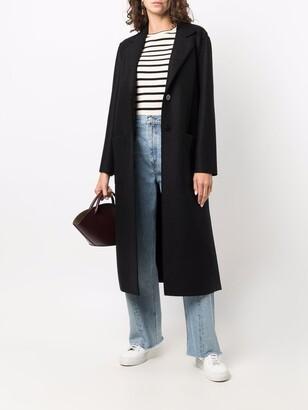 Harris Wharf London Single Breasted Wool Coat
