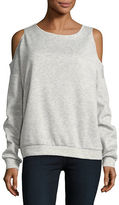 Necessary Objects Cold-Shoulder Sweatshirt