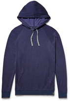 Lanvin Loopback Cotton-Blend Jersey Hoodie