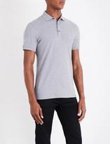 BOSS ORANGE Cotton polo shirt