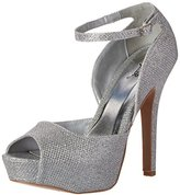 Qupid Women's GAZE-442 Platform dress Sandal