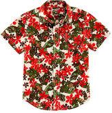 Arizona Button-Front Poplin Shirt - Boys 4-7