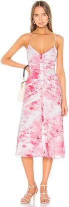 Lovers + Friends Alexa Midi Dress