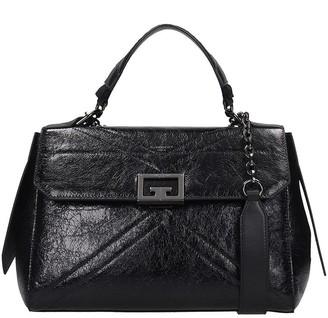 Givenchy I D Medium Bag Hand Bag In Black Leather