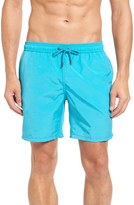 Mr.Swim Men's Cerulean Solid Swim Trunks