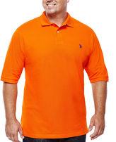 U.S. Polo Assn. USPA Short-Sleeve Knit Polo - Big & Tall