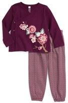 Tea Collection Infant Girl's Akira Tunic & Pants Set