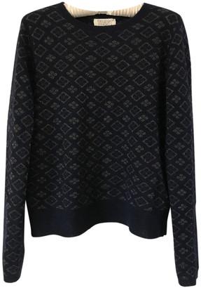 Toast Blue Wool Knitwear