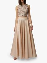 Raishma Taffeta Maxi Skirt, Blush