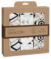 Petunia Pickle Bottom by aden + anais® 3-Pack Swaddle in Siesta Sienna