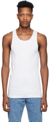 Calvin Klein Underwear Three-Pack White Cotton Tank Top