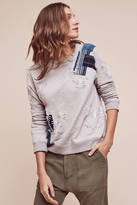 Anthropologie Bristol Patchwork Sweatshirt