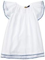 Ralph Lauren Girls' Flutter Sleeve Dress - Sizes 7-16