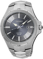 Seiko Coutura Mens Stainless Steel Solar Bracelet Watch