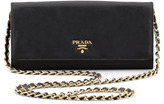 Prada Saffiano Wallet-on-Chain