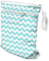 Bed Bath & Beyond Planet Wise Wet/Dry Bag in Teal Chevron