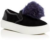 Rebecca Minkoff Sloane Pom Pom Slip On Sneakers
