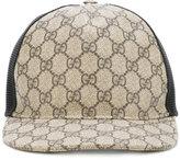 Gucci GG Supreme baseball cap - men - Cotton/Polyester/Polyurethane - S