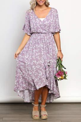 Kori America Floral Maxi Dress