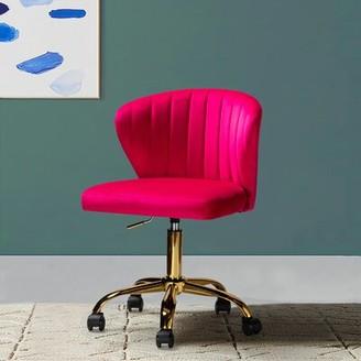 Mercer41 Petillo Task Chair Upholstery Color: Fushia