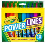 Crayola PowerLines Markers Scented 10ct