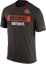 Nike Men's Cleveland Browns Just Do It T-Shirt