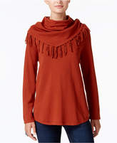 Style&Co. Style & Co Cowl-Neck Sweater, Created for Macy's