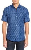 Zachary Prell Men's Mehmet Print Sport Shirt