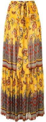 Alexis Erris tiered skirt