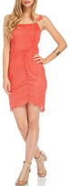 Lush Spiced Coral Dress