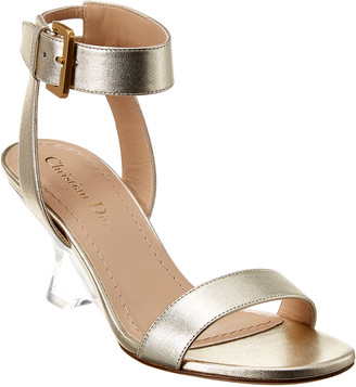 Christian Dior Diorsphere Metallic Leather Sandal