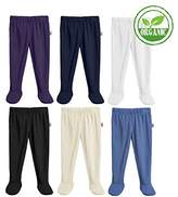 City Threads Baby Boys' and Girls' Footed Pants
