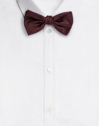 Dolce & Gabbana Silk Satin Bow Tie