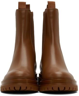 Gianvito Rossi Tan Chester Boots