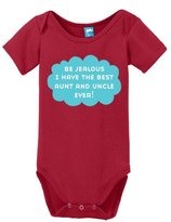 Sod Uniforms Be jealous I have the best aunt and uncle ever Onesie Funny Bodysuit Baby Romper