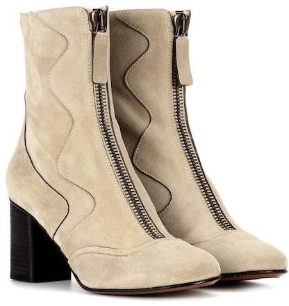 Chloé Exclusive to mytheresa.com – suede ankle boots