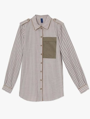 Resume - Aliyah Pocket Shirt Wood - 34