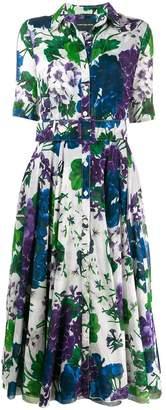 Samantha Sung floral print shirt dress