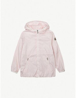 Moncler Eau hooded woven jacket 4-14 years