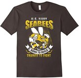 US Navy Seabees Born To Build Trained To Fight T-Shirts