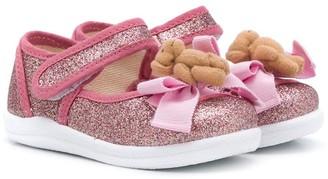 MonnaLisa Teddy Bear sandals