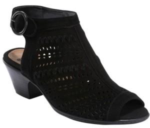 Earth Women's Carson Hamden Peep Toe Sandal Women's Shoes