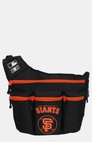 Diaper Dude Infant 'San Francisco Giants' Messenger Diaper Bag - Black