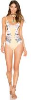 MinkPink Spread Like Wildflowers One Piece Swimsuit