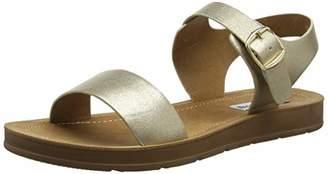 Steve Madden Women's Probable Open Toe Sandals, (Gold 045), 5 (38 EU)