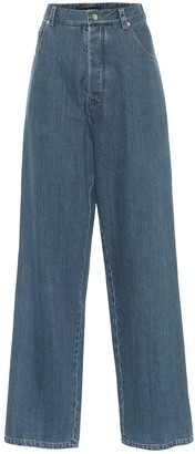 Kwaidan Editions High-rise wide-leg jeans